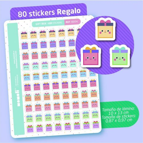 micro stickers regalo