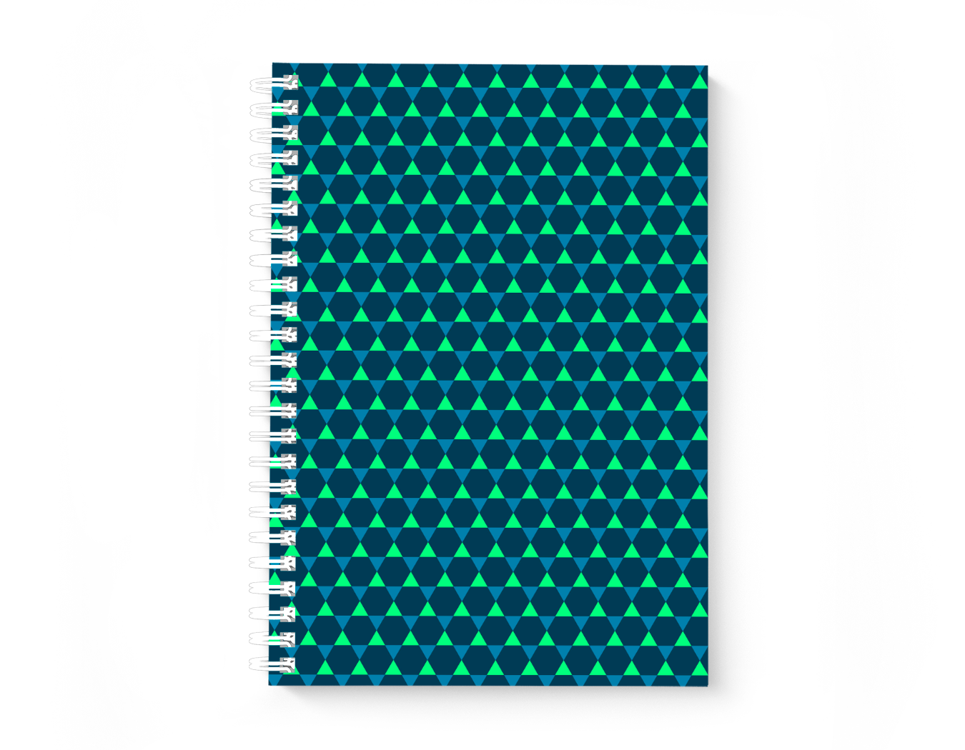 Hexagons verde